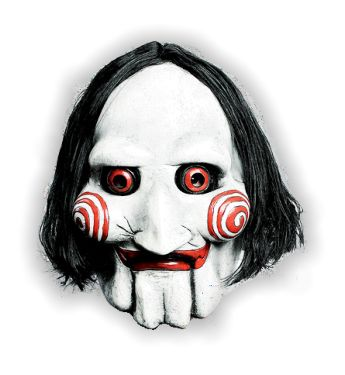 maschera saw puppet